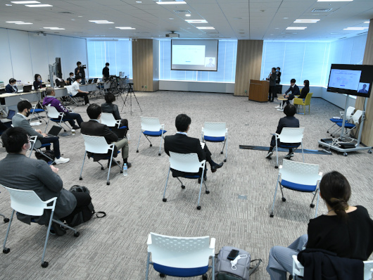 "Speech at ""AI/SUM & TRAN/SUM with CEATEC 2020"""